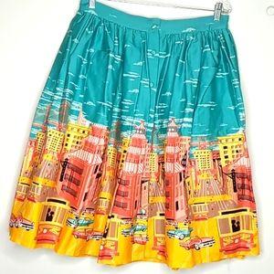 Lindy Bop Adalene Full Skirt - 12